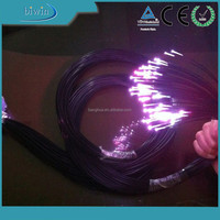 end glow single core fiber optic cable lighting for star effect