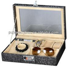 2012-2013 hot sale single aluminum making wooden box