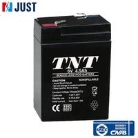 Hot sale deep cycle 6v 4.5ah 20hr sealed lead acid vrla battery