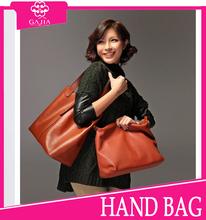 2015 new arrival European fashion brown shoulder tote bag Factory price dubai women lady wholesale OEM cheap handbag from China