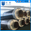 hot sale steam steel insulation pipe filled with rockwool material