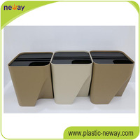 Best sale fancy Eco-Friendly Stocked stackable storage plastc box with lid for logistics transportion