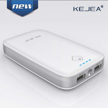 CE FCC RoHS Capacity 10000mAh Portable Mobile Power Banks 999B with 2 Output Charge for Mobile Phones and Digital Devices