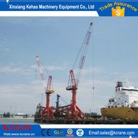 Electric Wharf shipyard electric hoist portal crane