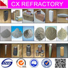 Shaped refractory material for steel casting system