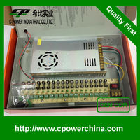 Berufs tvcc power supply 12v 30a 18ch power supply box 18 port 30amp power distribution box CCTV Power supply