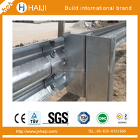highway guardrail wide flange beam for driving school used