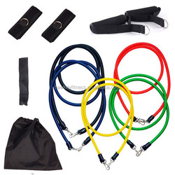 High Quality Wholesale Fitness Resistance Band Tube Set