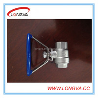 oval handle ball valve made in china