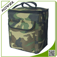 Custom Logo Large Cooler Bag Camouflage Lunch Box