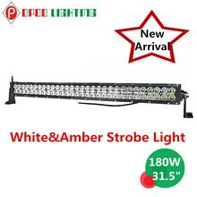 White&Amber Strobe Remote Control Flashing Light, 180W Remote Control Flashing Light