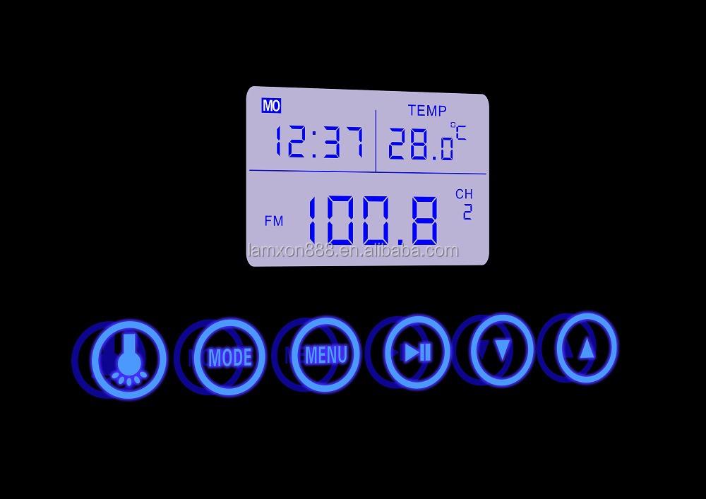 Haut De Gamme H 244 Tel Salle De Bains Miroir Avec Radio Et