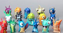 16pcs/set Anime Cartoon Slugterra 2 Action Figures Doll Toys Gift For Christmas Gift