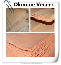 rubber wood okume veneer china factory