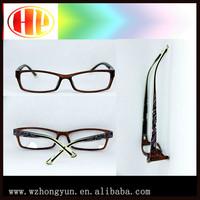 Women butterfly pattern acetate crystal eyewear glasses