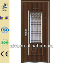 AFOL latest style stainless steel security doors for residence