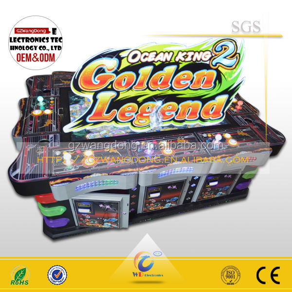 High income english ocean king 2 arcade fishing game for Arcade fishing games