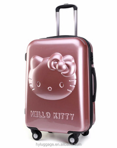 Filles Bonjour Kitty Chariot Bagages Coquille Dure Valise Carton Voyage Sacs