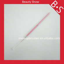 New single fine nylon nail brush,beauty pink cosmetic brush