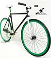 Elementos sonriendo& bicicleta piezas de 30mm rueda de bicicleta de artes fijos