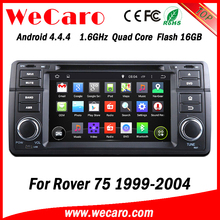 Wecaro Android 4.4.4 in dash touch screen car dvd player for rover 75 car radio navigation system 1999 - 2004