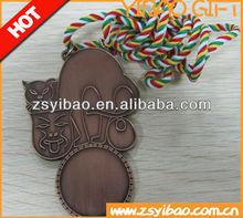 2015 Newest Custom antique animal medal