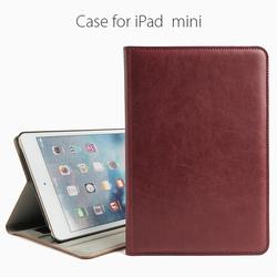 2016 Hot Selling colorful pu case for ipad mini