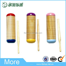 Surtidor de China instrumento musical de percusión de madera grande guiro