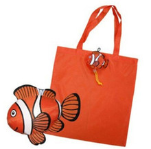 cheap foldable shopping bag polyester shopping foldable bag folded print own logo non woven shopping bag