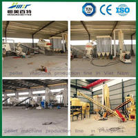 2.5-3 t/h german pellet machine production line
