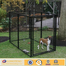 welded mesh style 10x10x6ft big metal dog house hot sale