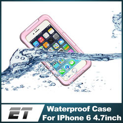 Case manufactory underwater 6M still working IP68 phone waterproof case for iphone 6