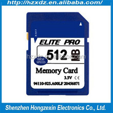 Customize Brand Name Memory sd Card 512MB