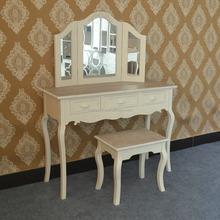 Modern home bedroom furniture ivory 3 drawers dresser