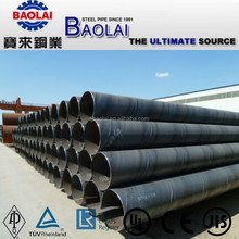 SSAW TUBULAR PILES TUBO DE ACERO FOR CONSTRUCTION