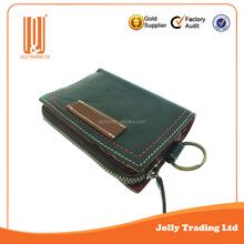 Fashion design man leather purse printed custom wallet