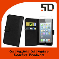 Alibaba China Manufacture Colourful Leather Mobile Phone Case
