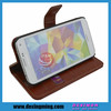 Fashionable ID Credit Card holder for samsung galaxy s5 flip leather case