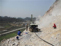 40m Coal Mining Usage Crawler Drilling Rig, Drilling Machine For Sale