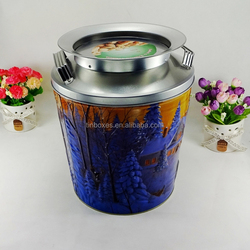 Hot Sell OEM printed tin bucket for food