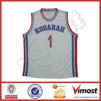 Professional full Sublimation basketball jersey/basketball uniform design/custom cheap basketball wear