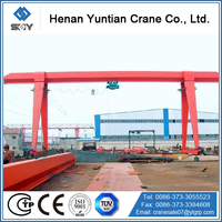Box Type Single Girder Electric Hoist Cantilever Gantry Crane
