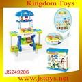 2015 nuevo estilo de plástico para niños y casa de juego, juguete juego de cocina conjunto, cocina de juguete