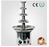 CHOCOLAZI ANT-8060 4 tiers stainless steel fountain chocolate