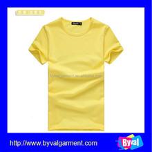 OEM factory 2015 new style fashion tshirt excellent quality cheap plain tshirt custom design red blank tshirt