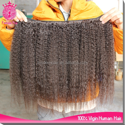 wholesale afro kinky straight individual best human hair weave natural thinning hair
