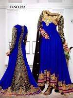 Graceful Designer Embroidered Party Wear Anarkali Suit