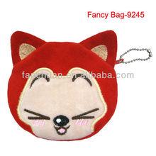 Fox shaped cute coin purses