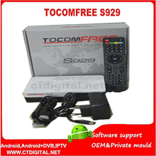 tocomsat receiver satellite tocomfree s929 with iptv for Latin America BETTER THAN TOCOM FREE S929 TOCOMFREE s929