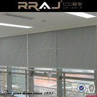 2015 Office Building Remote Control Window Curtain / Modern Motorized Roller Blinds